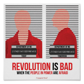 Revolution is Bad Poster