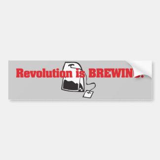 Revolution Is Brewing Car Bumper Sticker