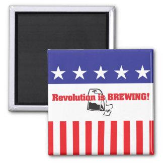 Revolution Is Brewing Magnet
