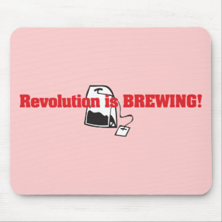 Revolution Is Brewing Mouse Pad