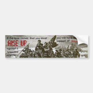 Revolution is my name bumper sticker