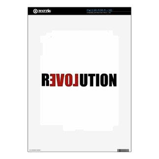 Revolution (Love) Decals For iPad 2