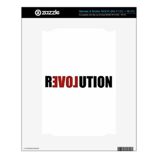 Revolution (Love) Decals For The NOOK