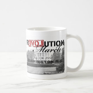 Revolution March Mug! Coffee Mug