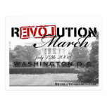 Revolution March postcard!