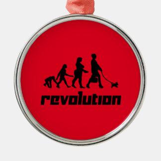 Revolution Metal Ornament