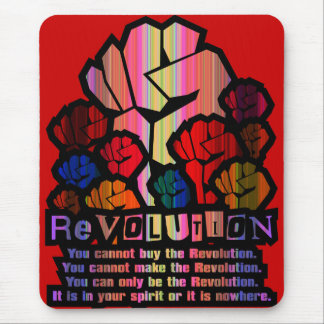 REVOLUTION MOUSE PAD