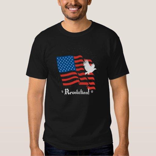 Revolution! Patriotic Mens T-Shirt