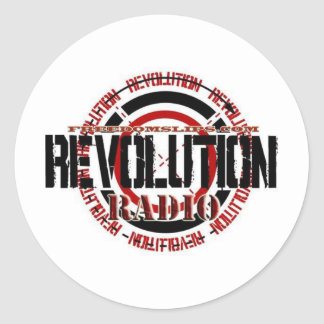 Revolution Radio Classic Round Sticker
