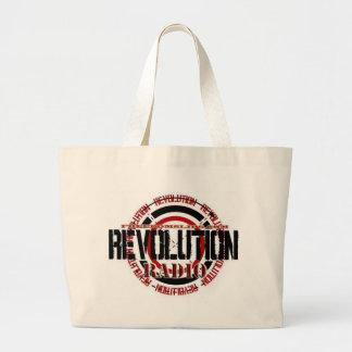 Revolution Radio Tote Bags
