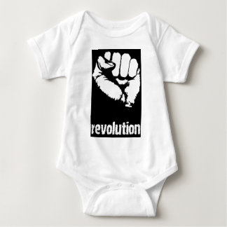 Revolution Raised Fist Baby Bodysuit