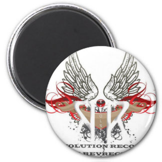 Revolution Records Store 2 Inch Round Magnet