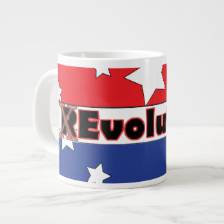 REvolution Red White and Blue Large Coffee Mug