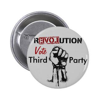 Revolution: Third Party Pinback Button