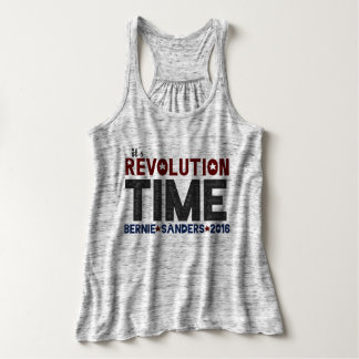 Revolution Time - Bernie Sanders 2016 Tank Top