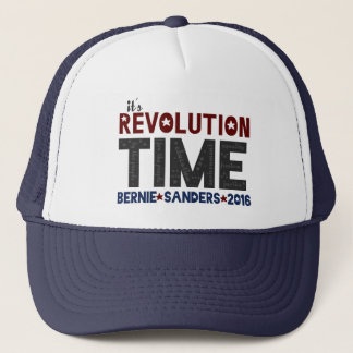 Revolution Time - Bernie Sanders 2016 Trucker Hat