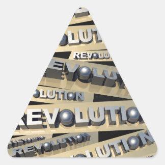 Revolution Triangle Sticker