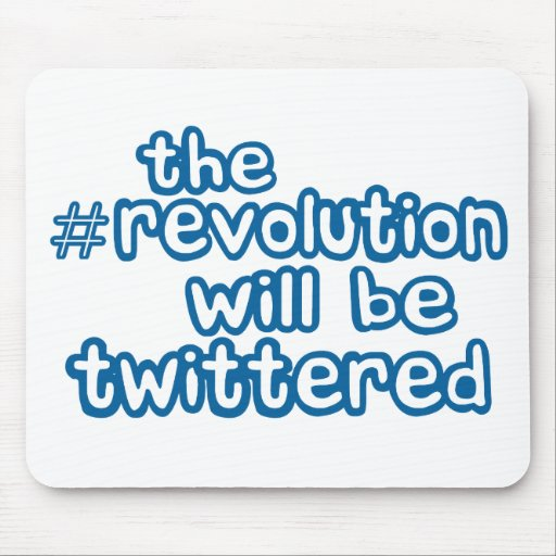 revolution twittered mouse pad