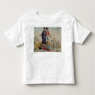 Revolutionary cartoon about Tithes Toddler T-shirt