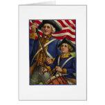 Revolutionary Patriots Greeting Card
