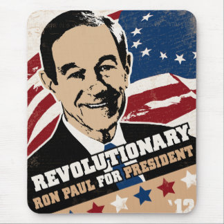 Revolutionary Ron Paul Mouse Pad
