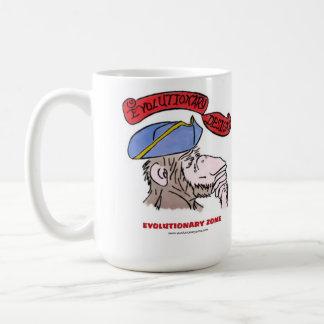 Revolutionary thinking monkey coffee mug