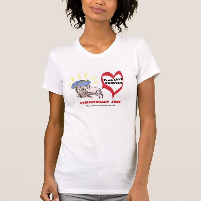 Revolutionary Thinking Monkey-TRUE LOVE T-Shirt