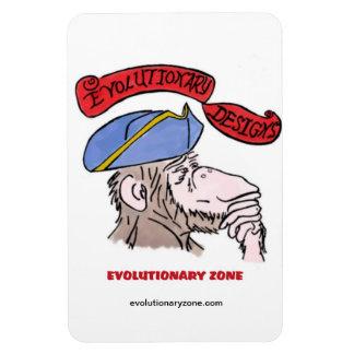 Revolutionary Thinking Monkey Vinyl Magnets