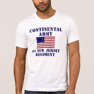 Revolutionary War 1st New Jersey Regiment T-shirt