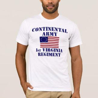 Revolutionary War 1st Virginia Regiment T-shirt