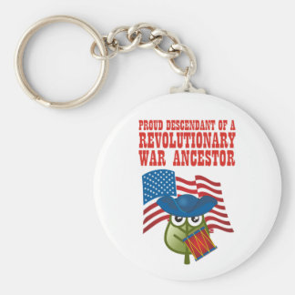 Revolutionary War Ancestor Keychain