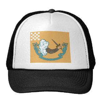 Revolutionary War Battle Flag Trucker Hat