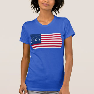 Revolutionary War Battle of Bennington U.S. Flag T-Shirt