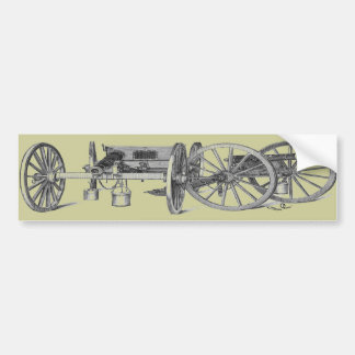 Revolutionary War Cannon Bumper Sticker