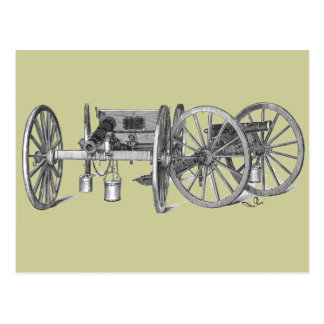 Revolutionary War Cannon Post Cards