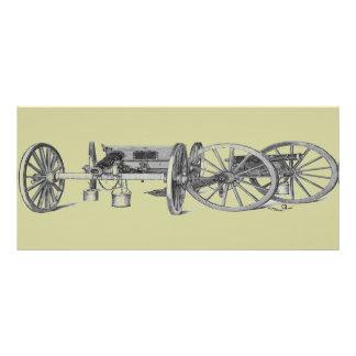 Revolutionary War Cannon Rack Card