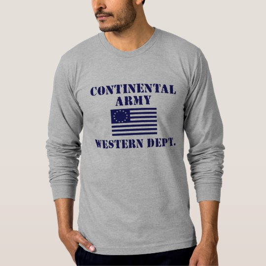 Revolutionary War Continental Army Shirt