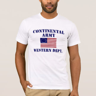 Revolutionary War Continental Army T-shirt