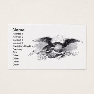 Revolutionary War Eagle Business Card