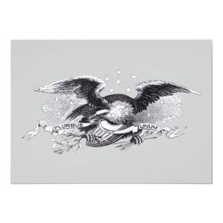 Revolutionary War Eagle Invitation