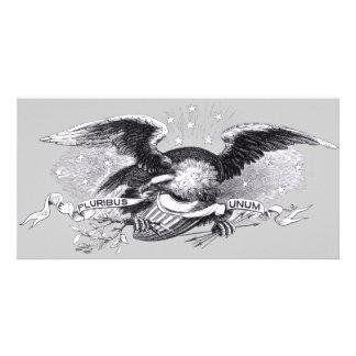 Revolutionary War Eagle Photo Card