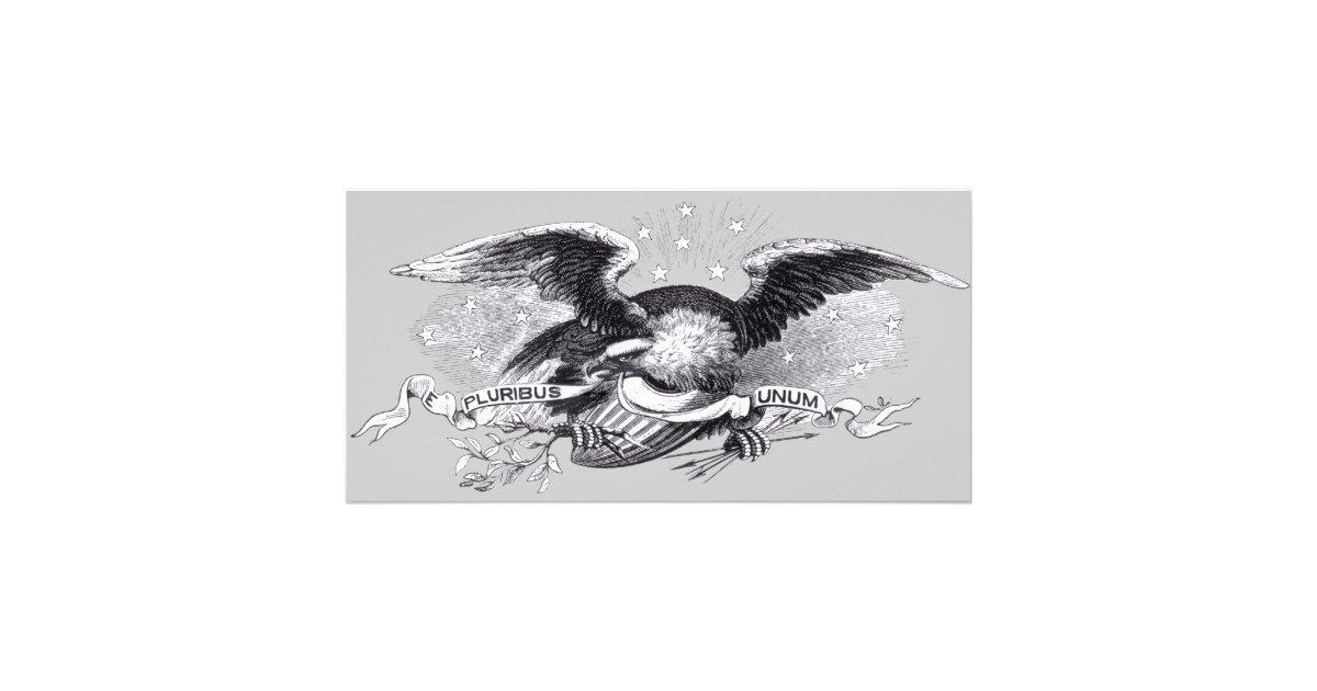 Revolutionary War Eagle Photo Card Zazzle Com