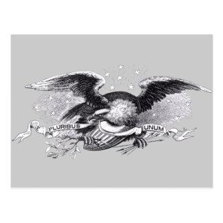 Revolutionary War Eagle Postcard
