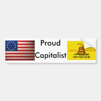 revolutionary-war-flag, treadonme copy, Proud, ... Car Bumper Sticker