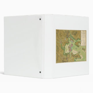 Revolutionary War Map of Boston Harbor 1776 Binder
