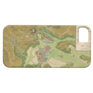 Revolutionary War Map of Boston Harbor 1776 iPhone 5 Case