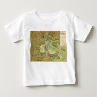Revolutionary War Map of Boston Harbor 1776 Infant T-shirt