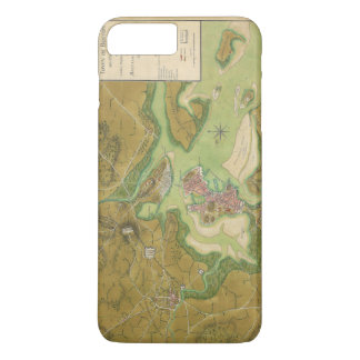 Revolutionary War Map of Boston Harbor 1776 iPhone 8 Plus/7 Plus Case