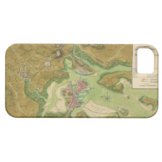 Revolutionary War Map of Boston Harbor 1776 iPhone SE/5/5s Case