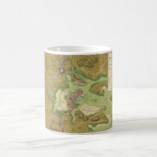 Revolutionary War Map of Boston Harbor 1776 Classic White Coffee Mug